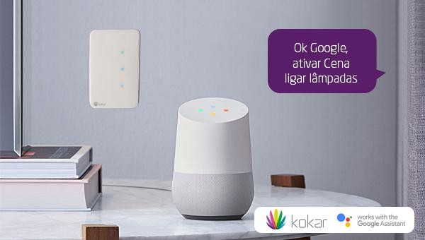 Google Home - Ativar Cenas
